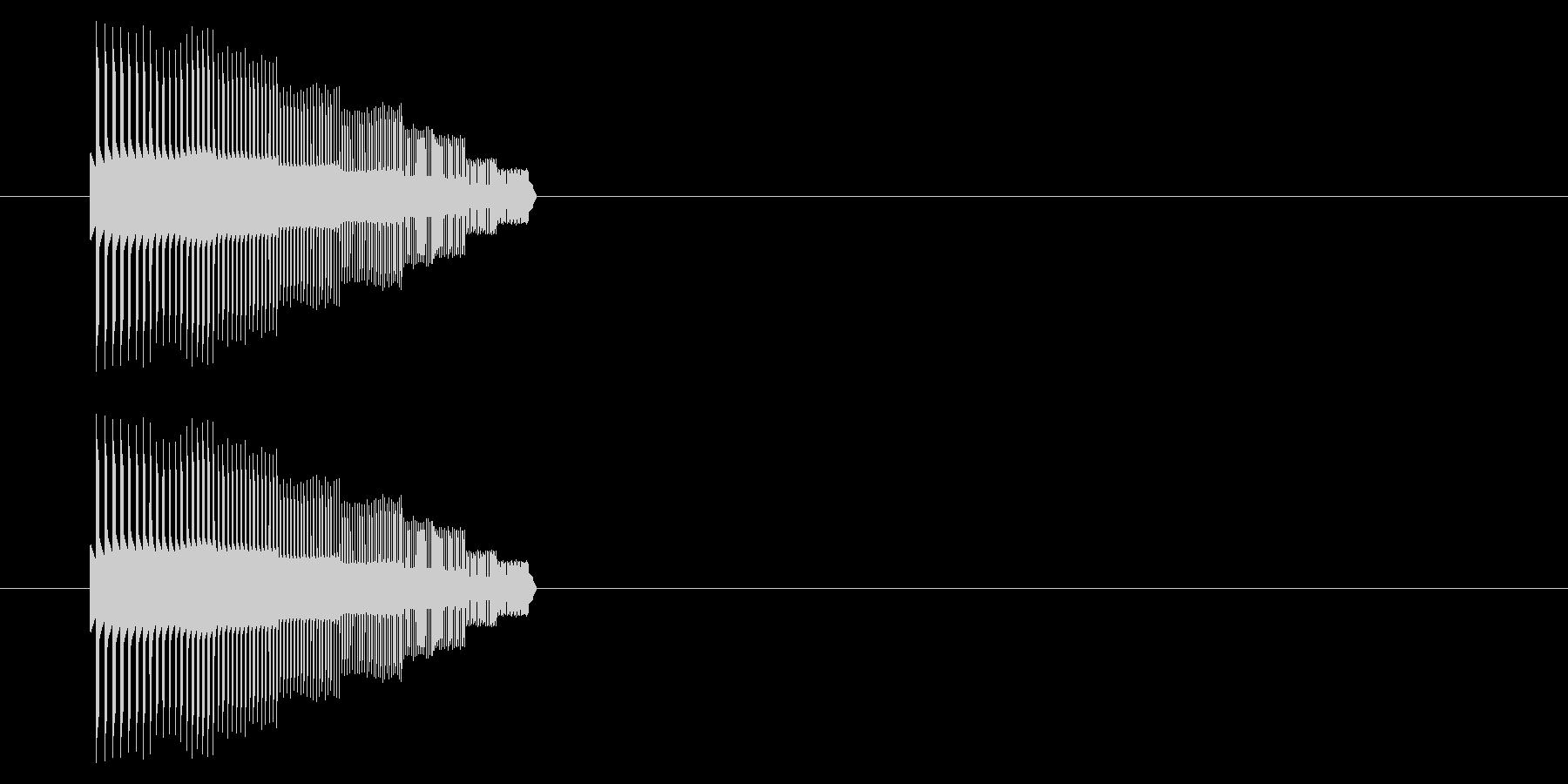 【NES 汎用01-02(ピッチ)】の未再生の波形