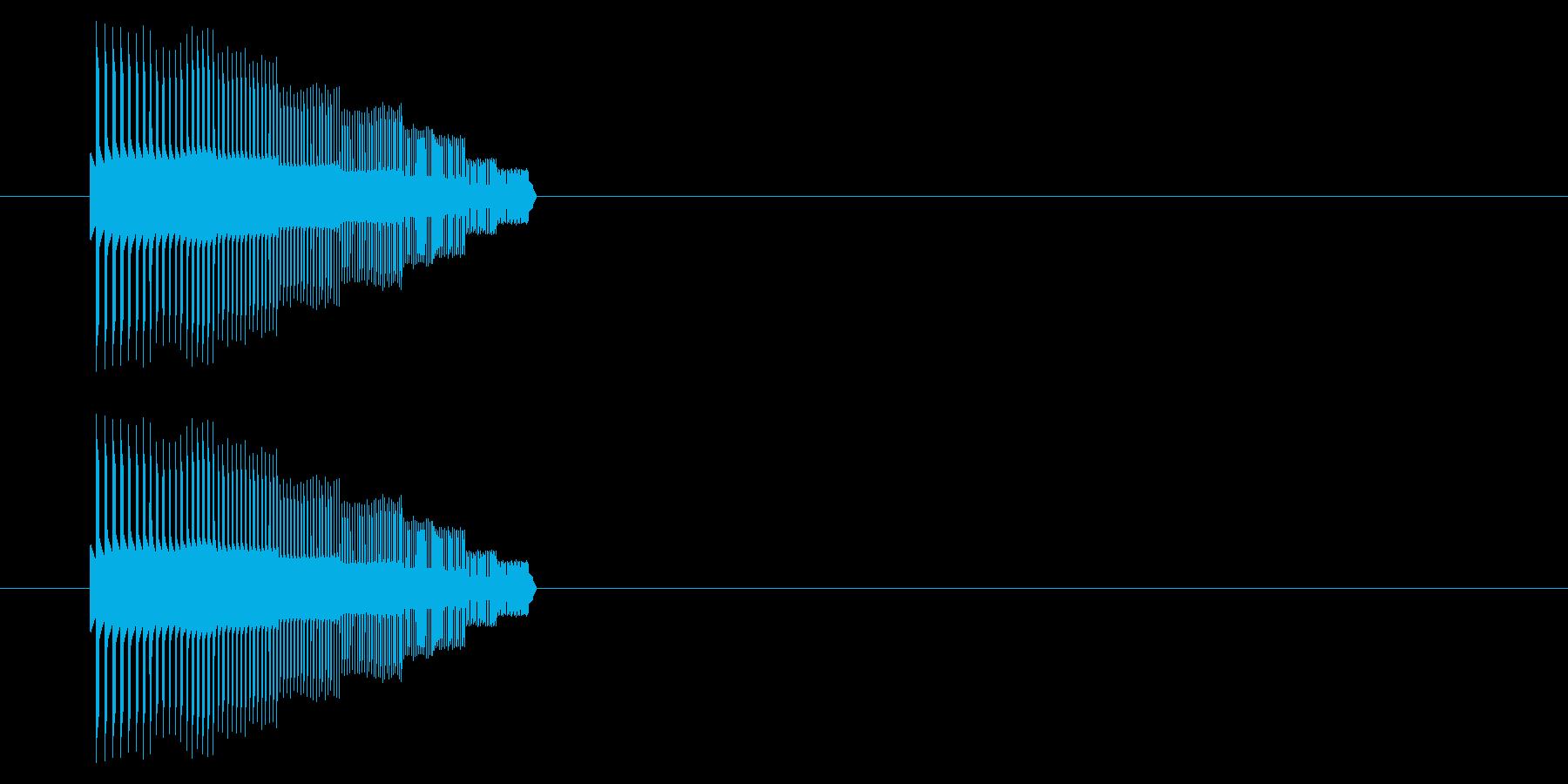 【NES 汎用01-02(ピッチ)】の再生済みの波形