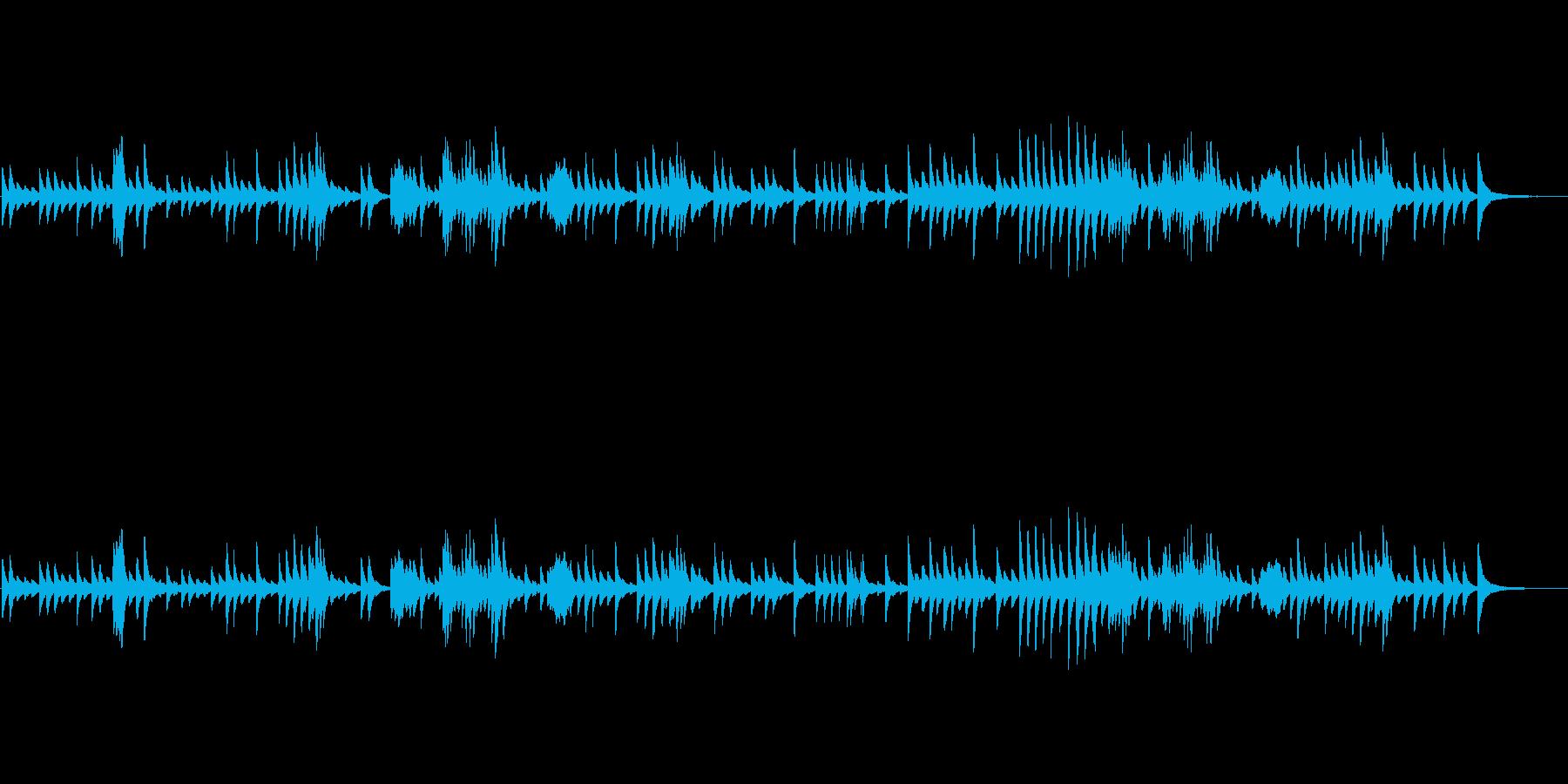 [オルゴール] ショパン  ノクターンの再生済みの波形