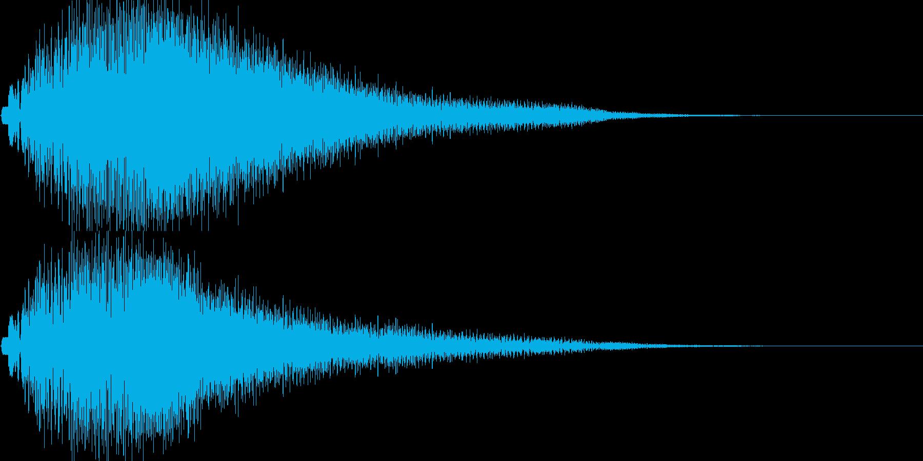 ポロロン(温かくオシャレなエレピ音)の再生済みの波形