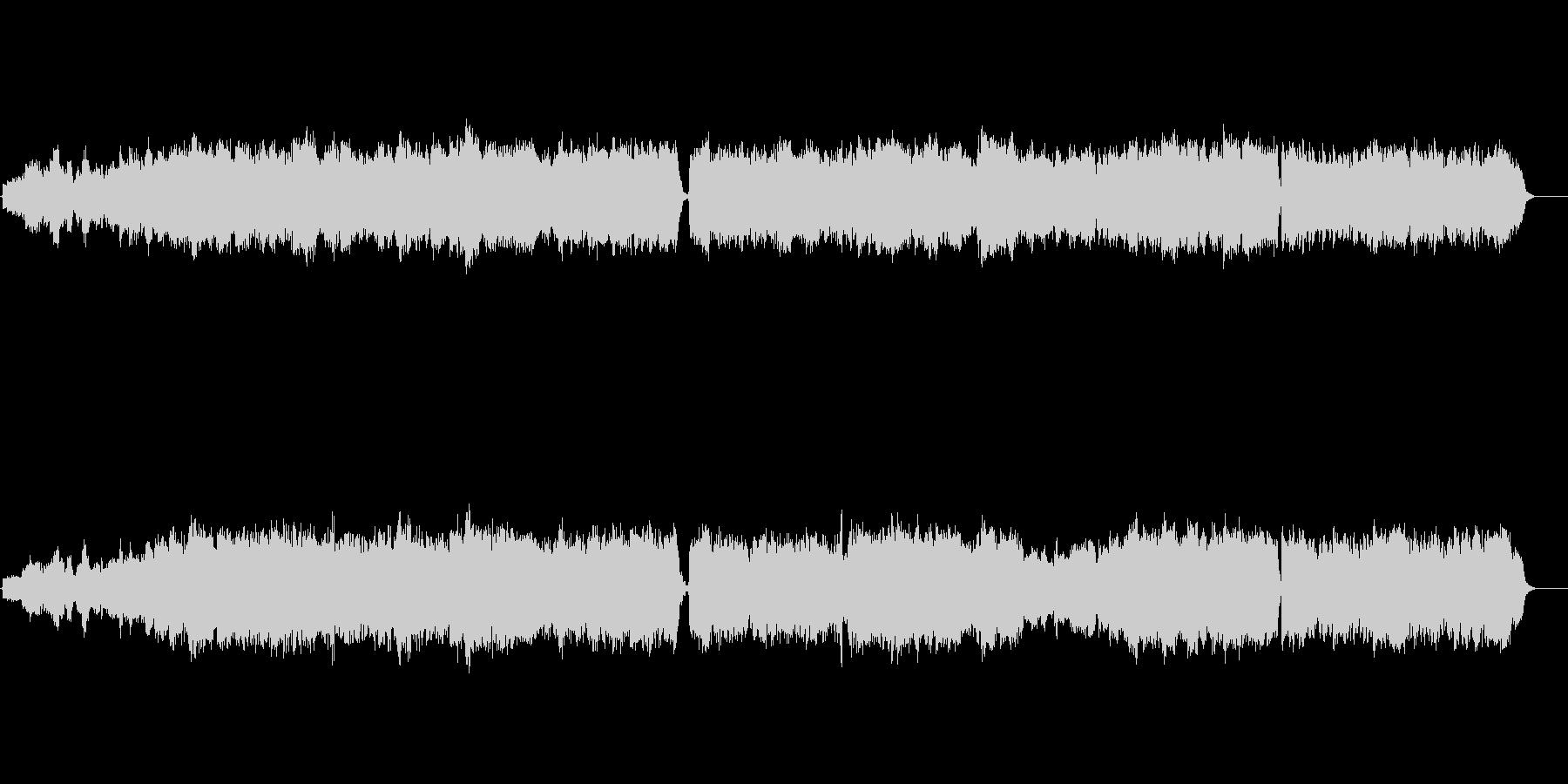 パレストリーナ「聖なる日は」弦楽四重奏の未再生の波形