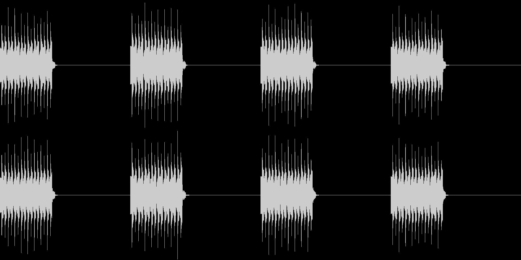 電話 着信音 携帯 遠くで鳴る着信音の未再生の波形