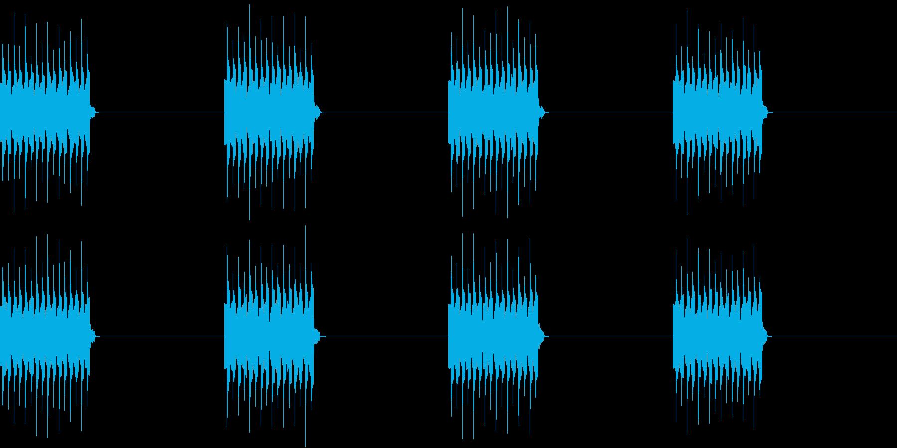 電話 着信音 携帯 遠くで鳴る着信音の再生済みの波形