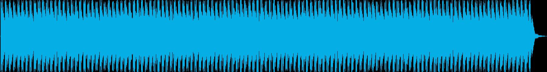 軽快でわくわくするエレクトロニカの再生済みの波形