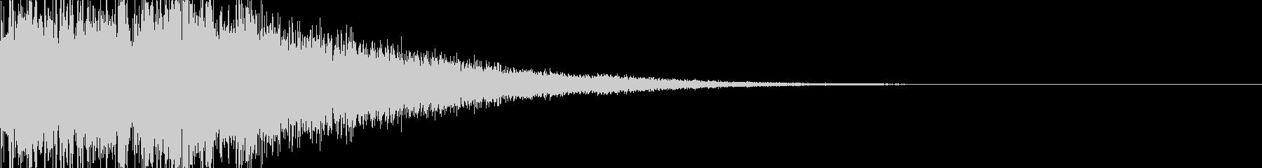 魔法03(水)の未再生の波形