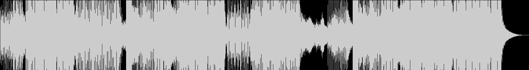 ラテン系ゆったりトロピカルEDMの未再生の波形