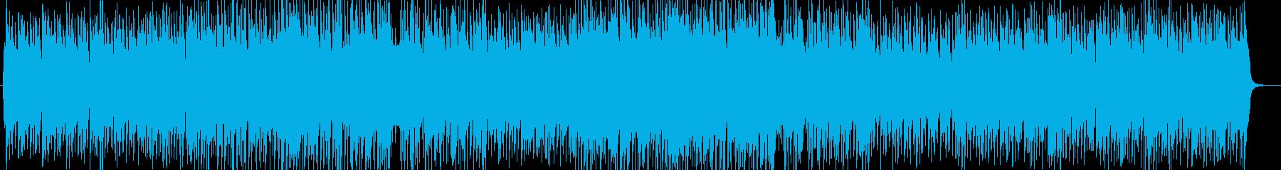 軽やかで軽快なバイオリンとピアノポップスの再生済みの波形