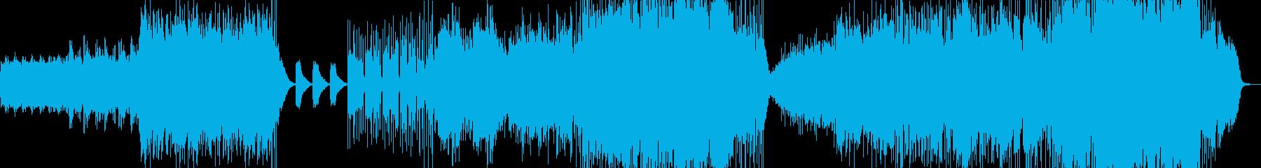 爽やかPOPの再生済みの波形