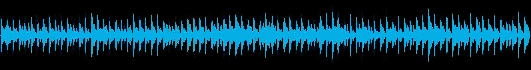 8bit  Ave Maria(ループ)の再生済みの波形