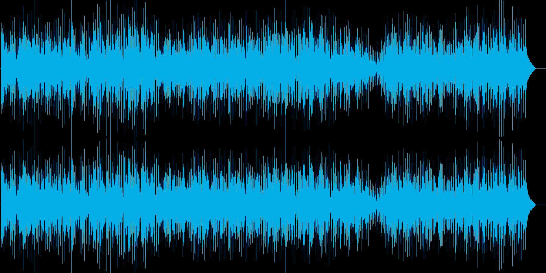 草競馬 かわいいカントリー アコギの再生済みの波形