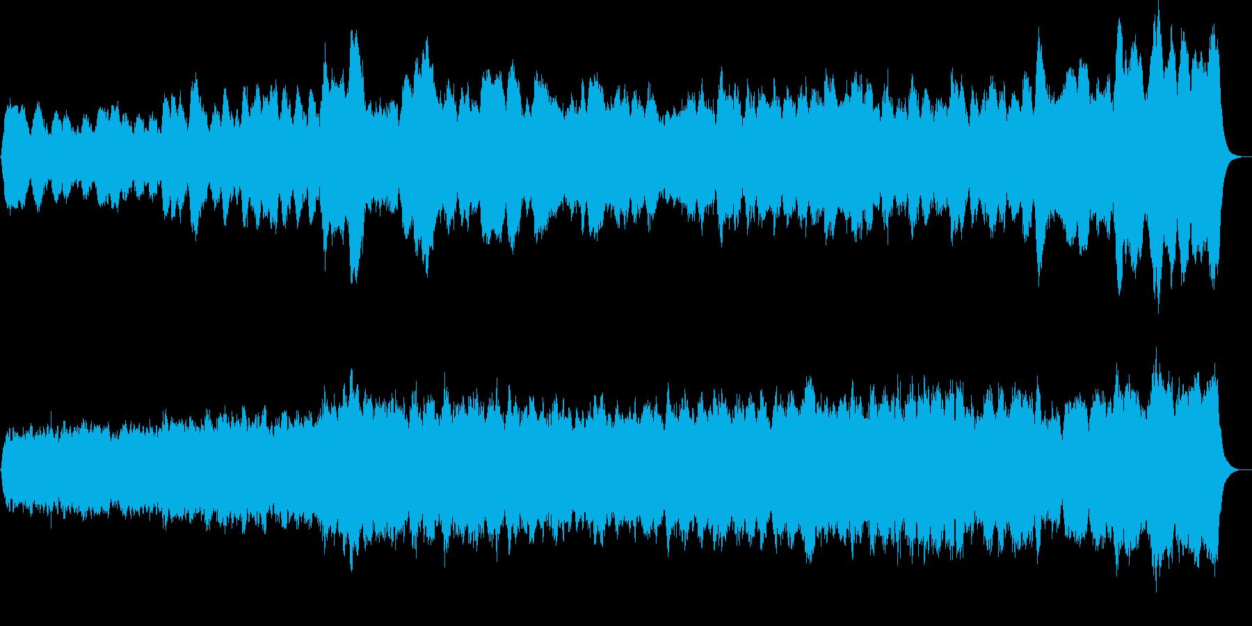 パイプオルガンオリジナル前奏曲の再生済みの波形