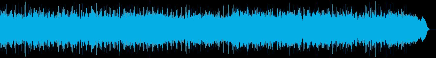 ダークで重厚 重量感のあるメタルインストの再生済みの波形