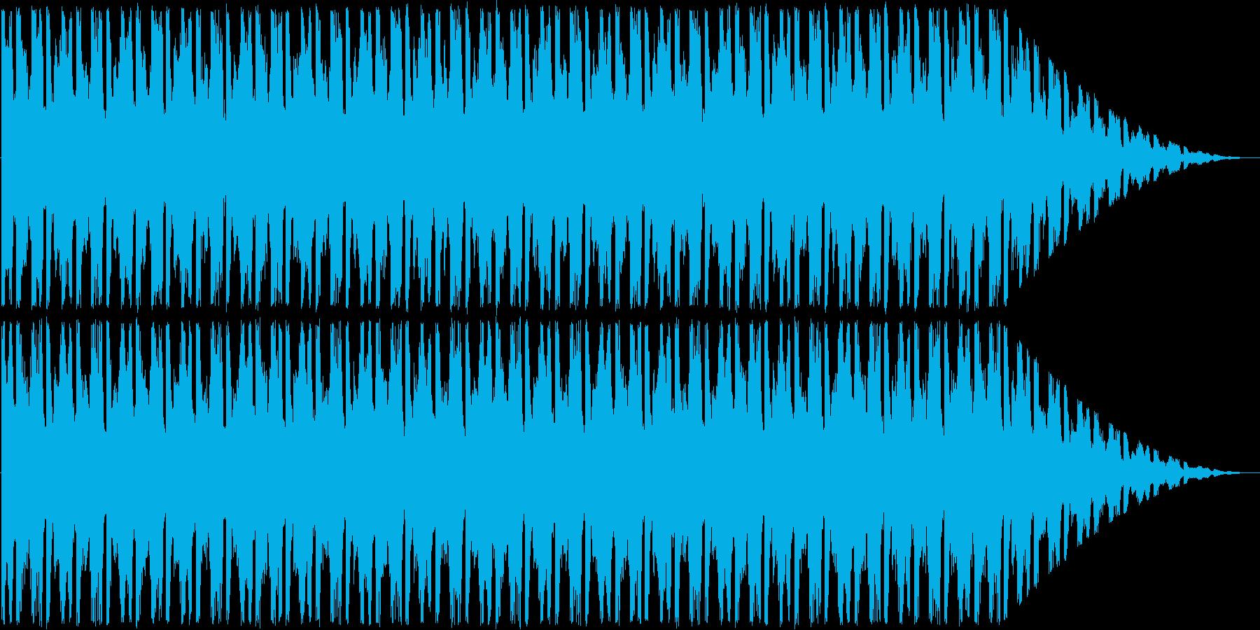 明るいループ曲。の再生済みの波形