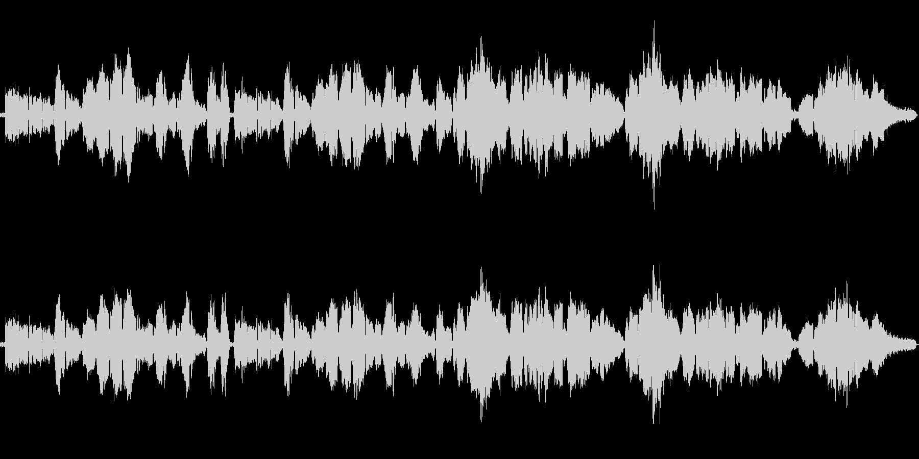 ラフマニノフ作曲の有名なクラシックの未再生の波形