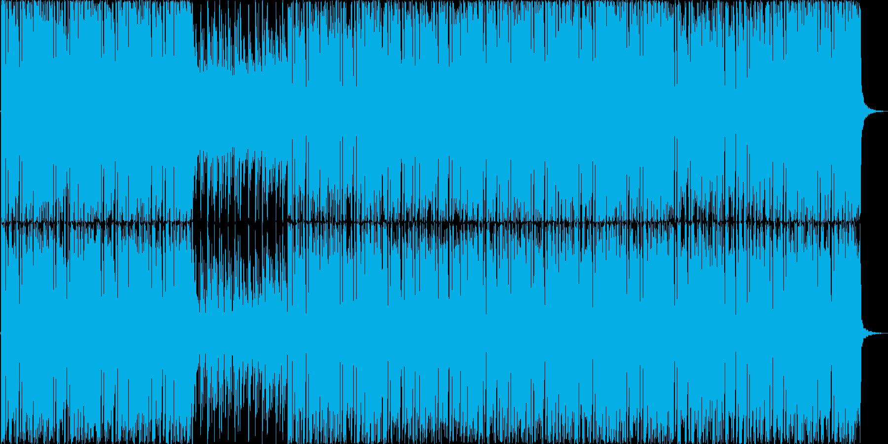 ヒップホップのバックトラックをイメージ…の再生済みの波形