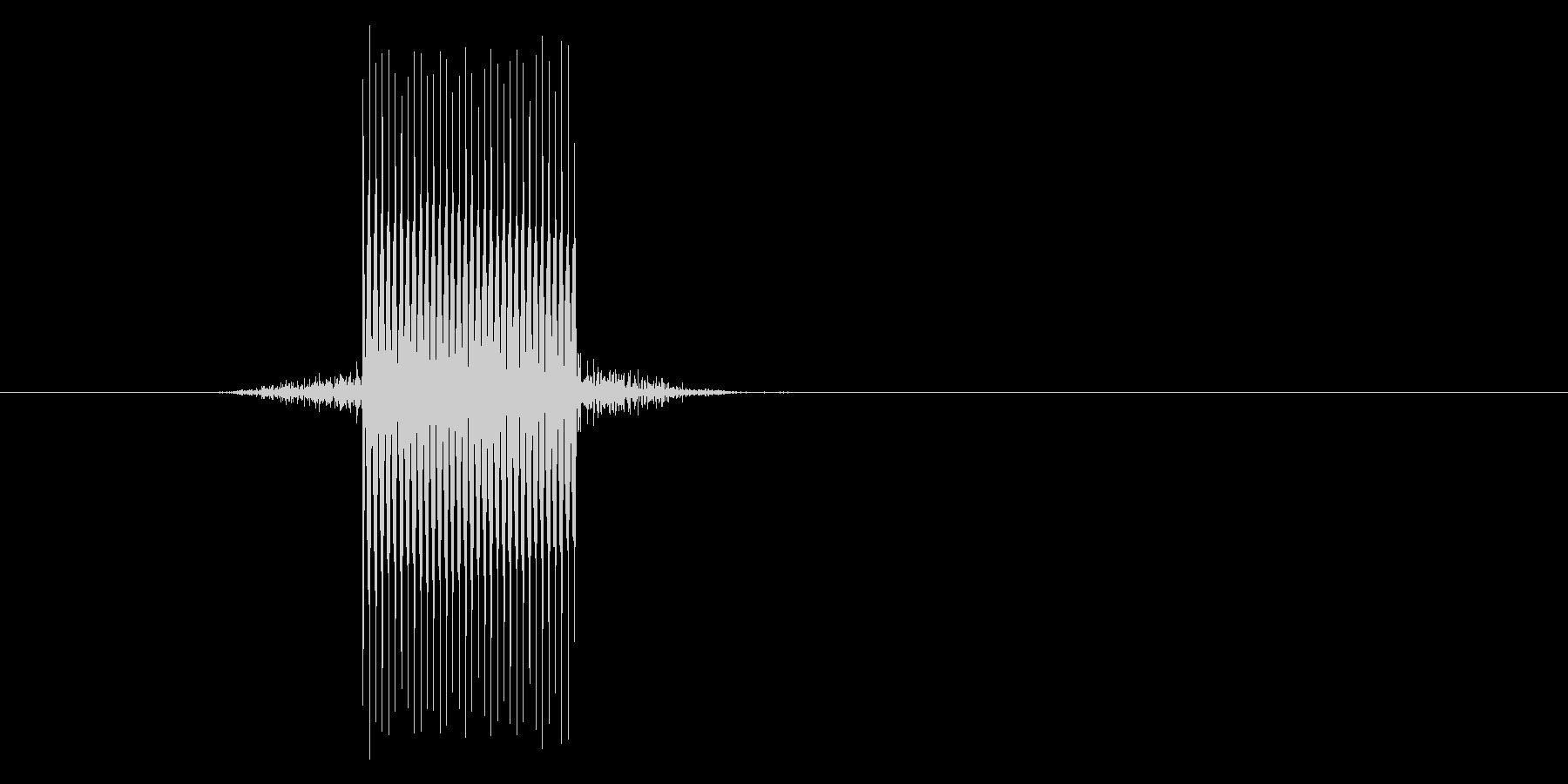 ゲーム(ファミコン風)セレクト音_020の未再生の波形