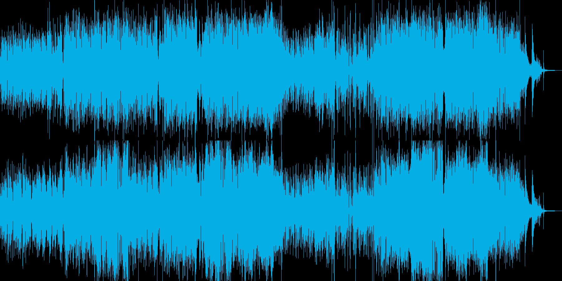 メルヘンチックなジャズワルツの再生済みの波形