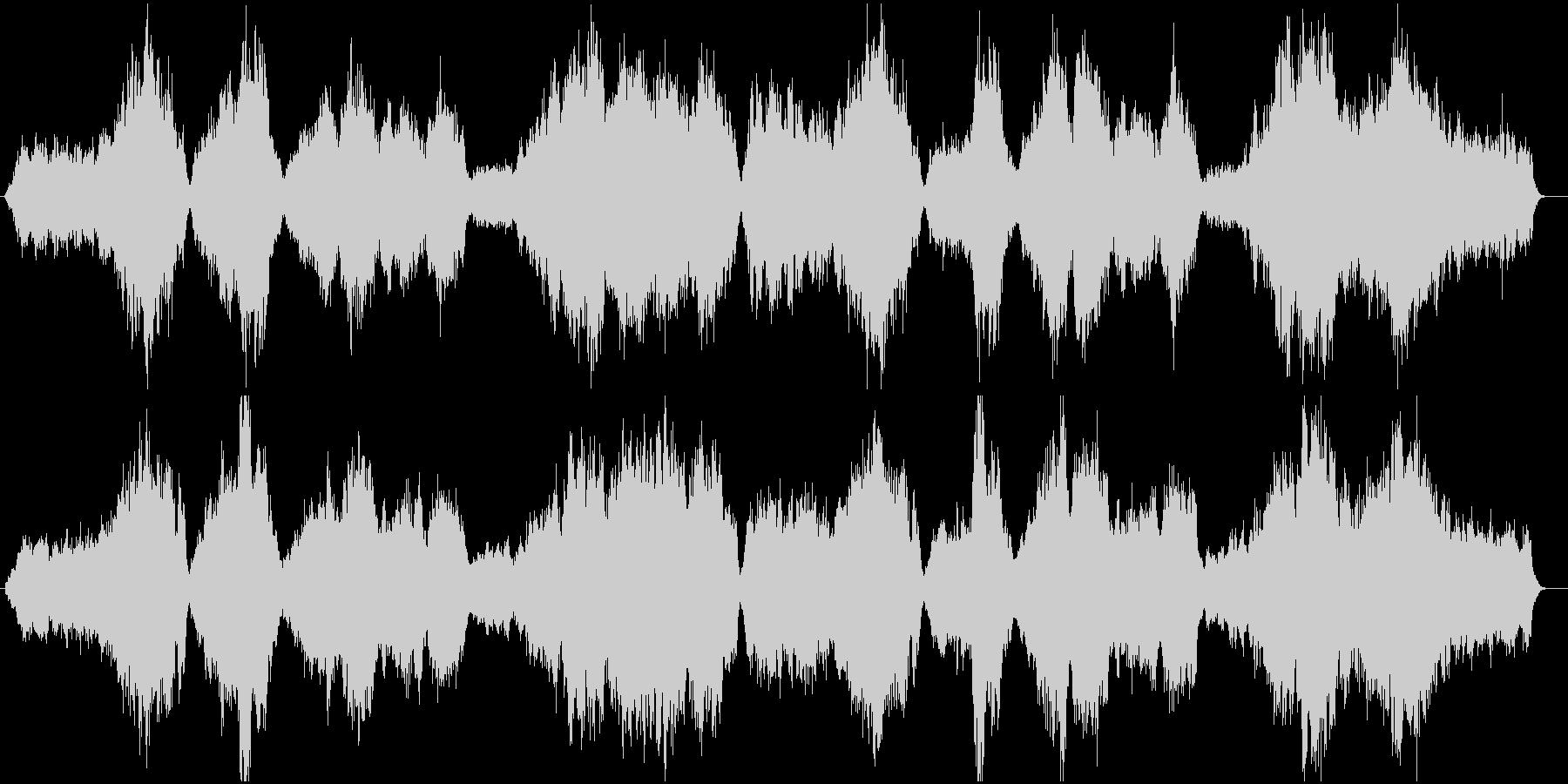 バッハを意識したストリングスの未再生の波形