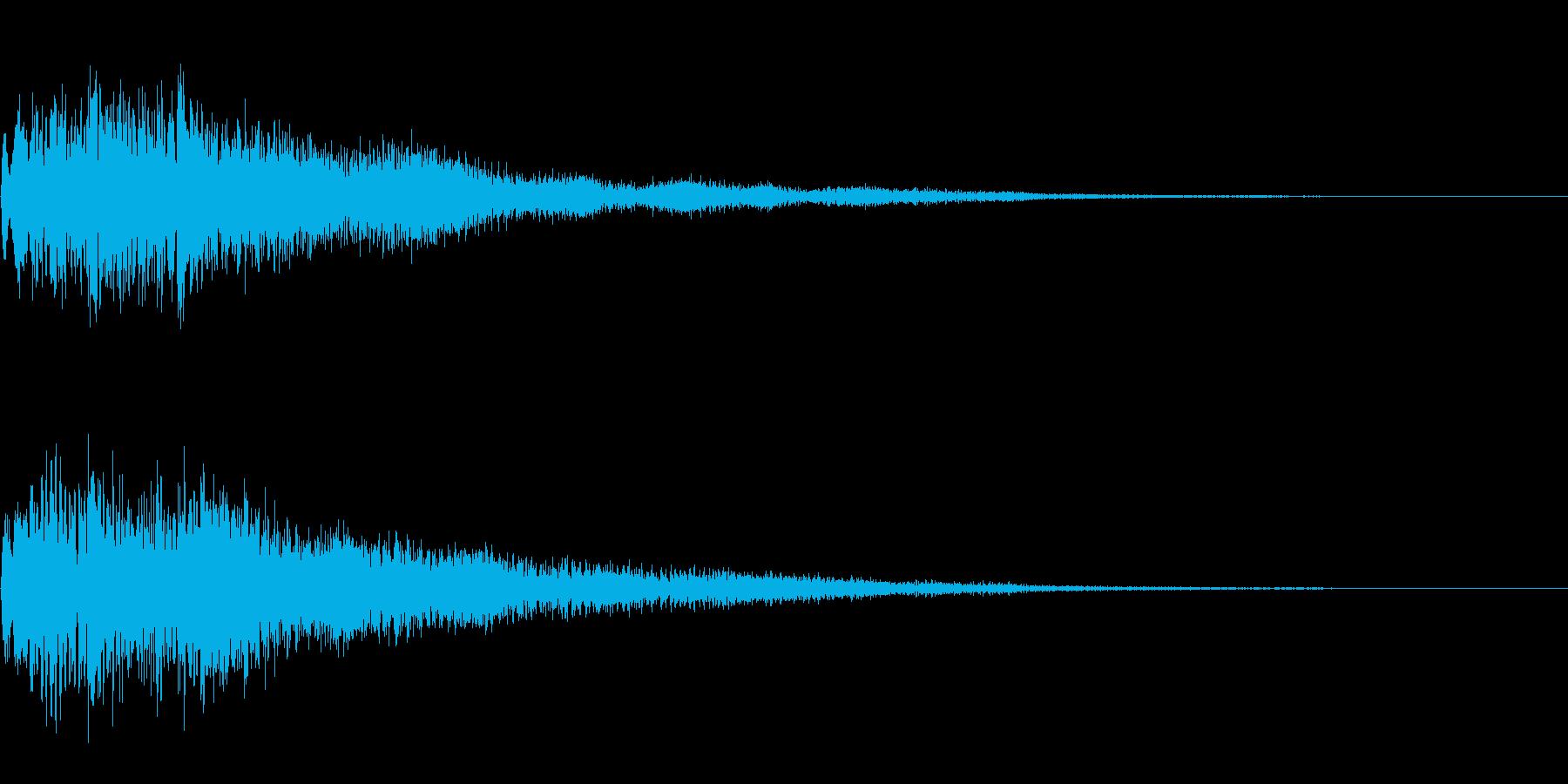 【ピロリロン】ゲームの決定などにの再生済みの波形