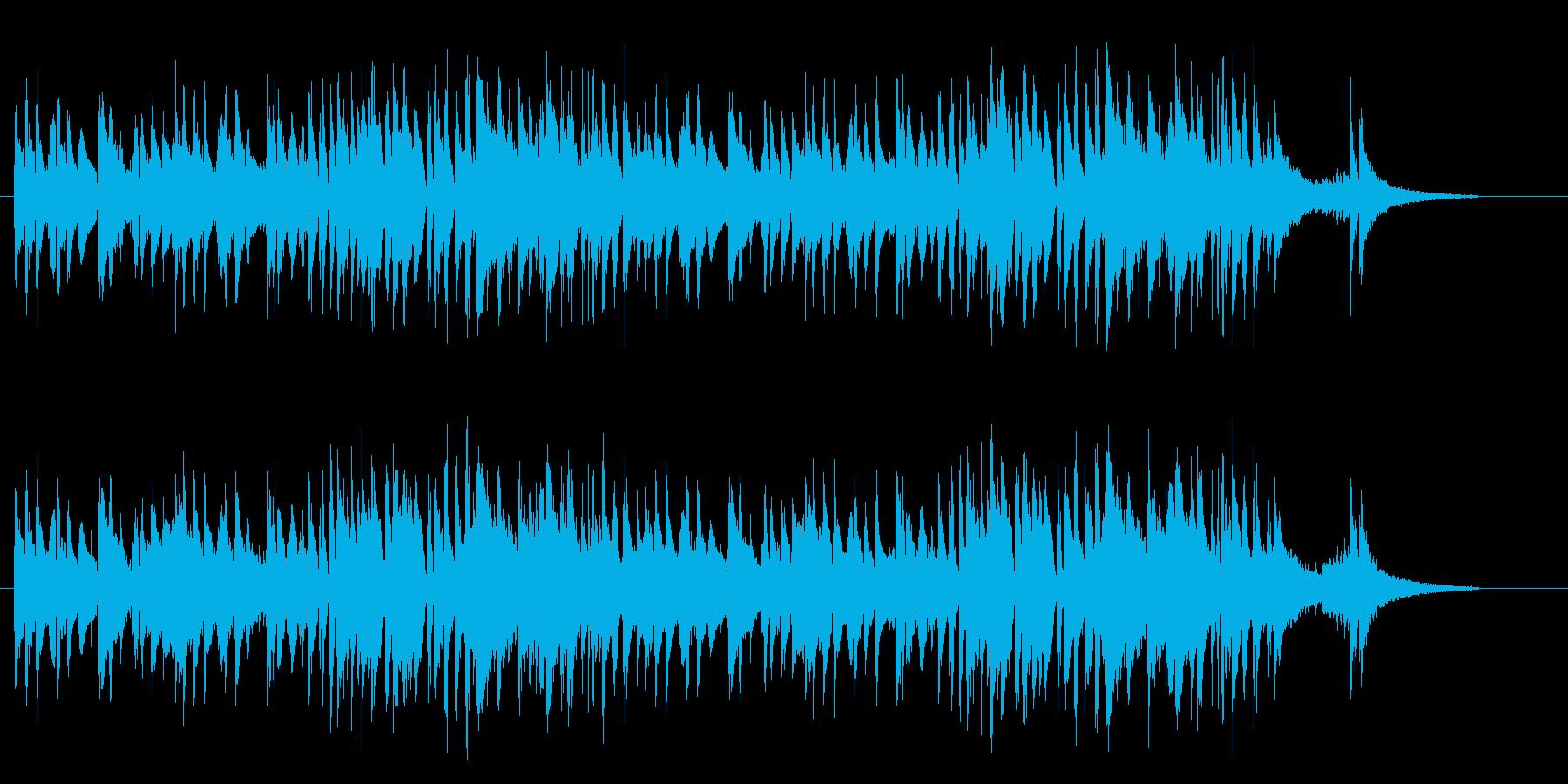「即興」→「朝のノリ」→「早起きの鳥」…の再生済みの波形