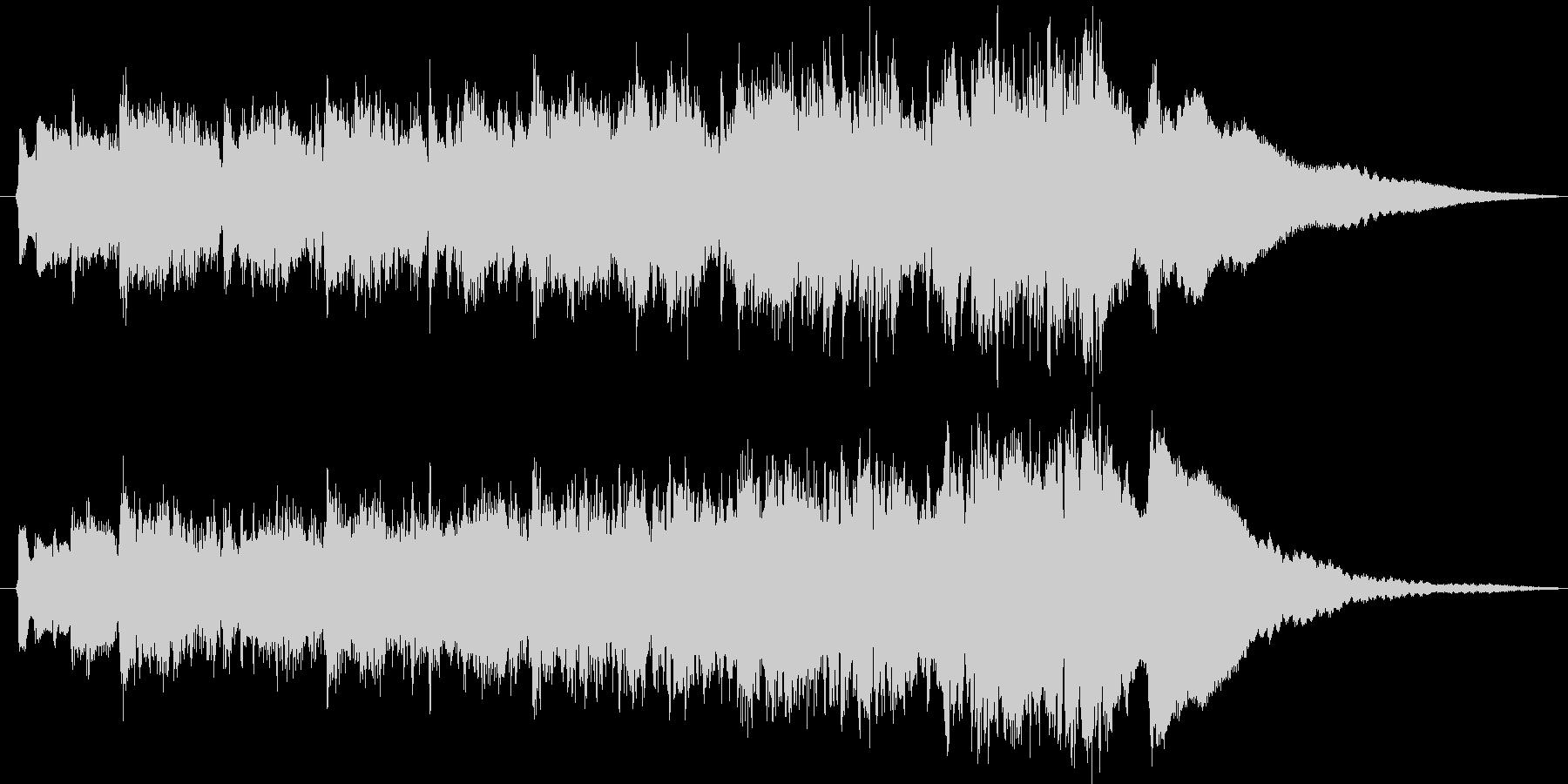 ダークなギター インストの未再生の波形