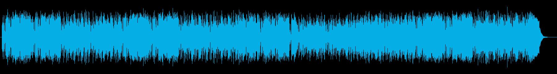 爽やかで朗らかなフルートサウンドの再生済みの波形