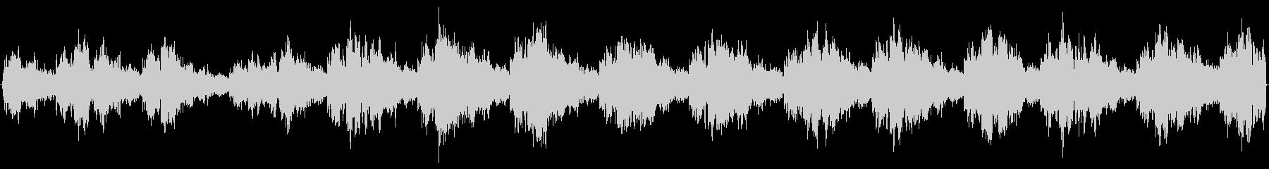 オイル臭い大きな機械音ガシャガシャの未再生の波形