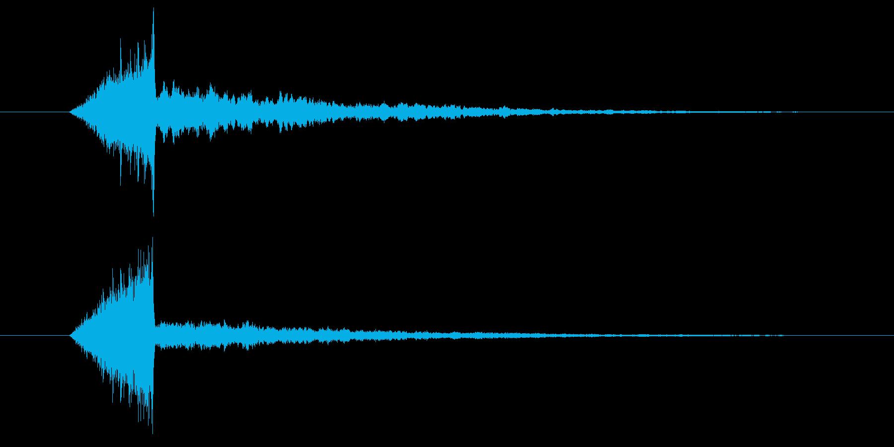 シュピーン、テロップ音、スーパー。の再生済みの波形