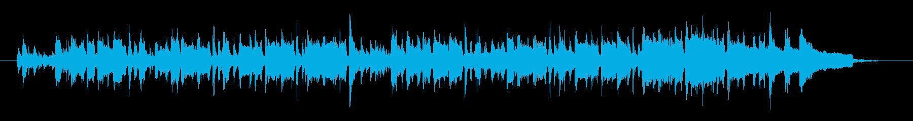 マンドリンがさわやかで軽やかなポップスの再生済みの波形