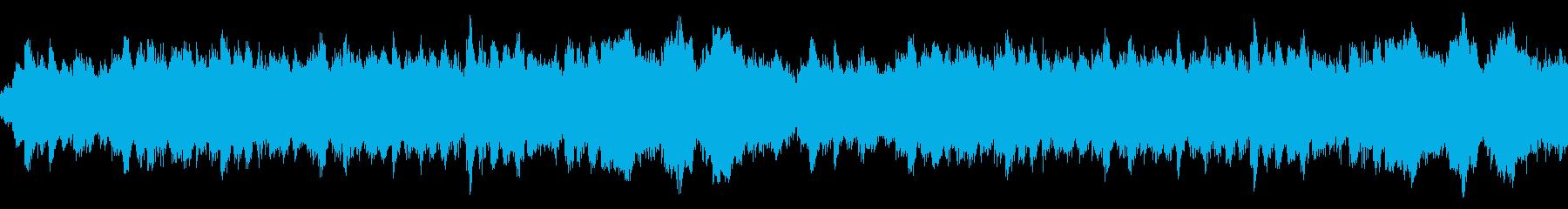 落ち着いたバラード アンビエント ループの再生済みの波形