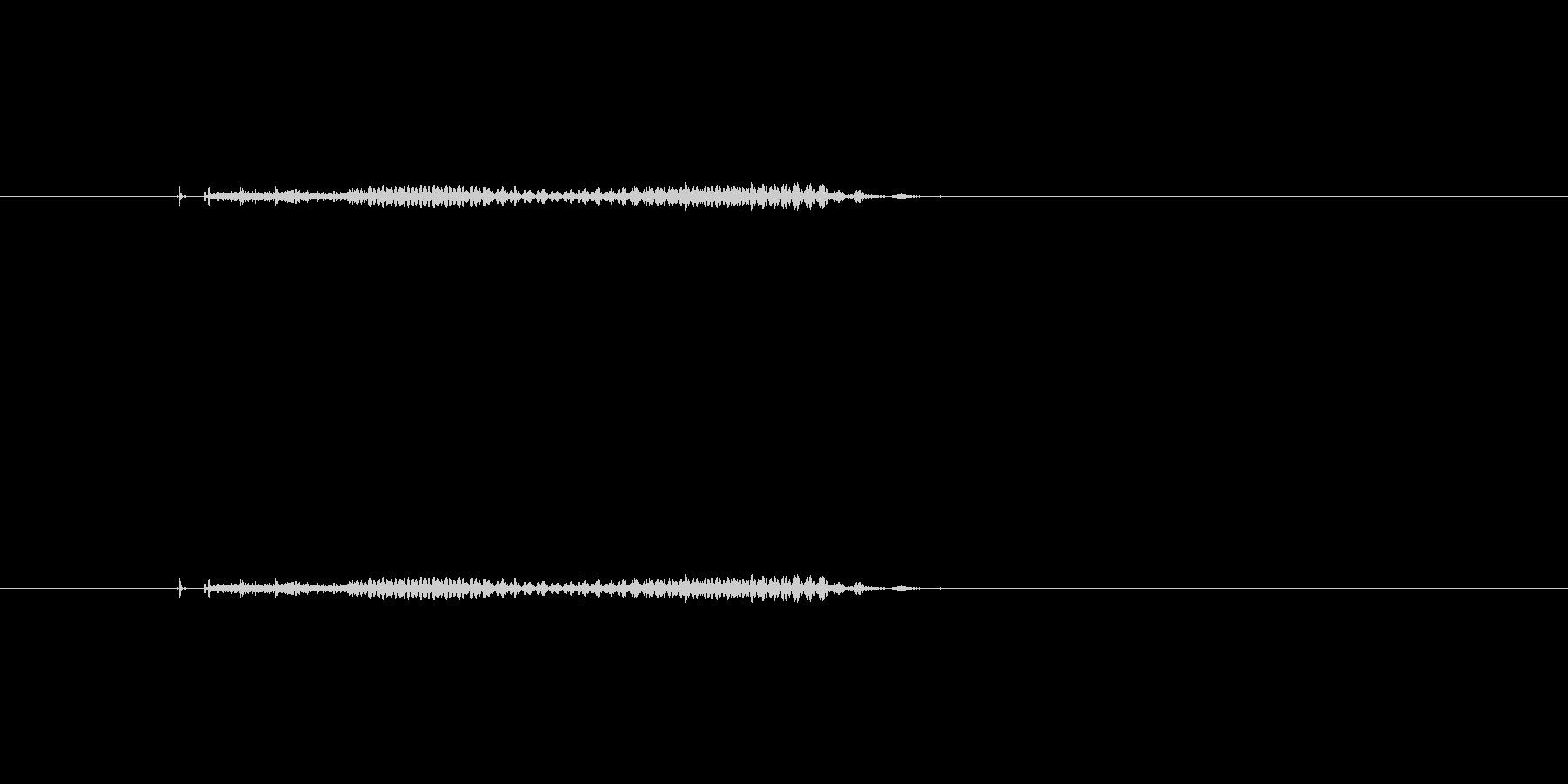 雉(きじ)の未再生の波形