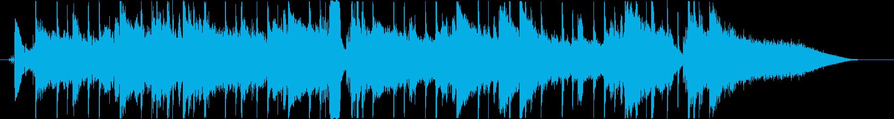 AOR風ジングル・サウンドロゴの再生済みの波形