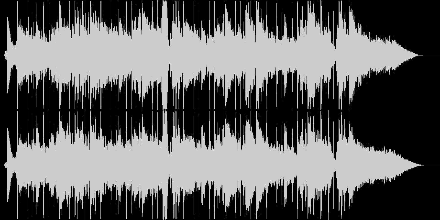 AOR風ジングル・サウンドロゴの未再生の波形