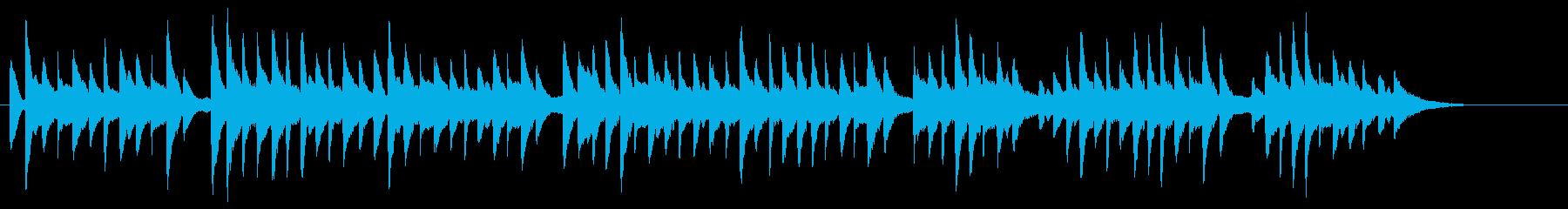 サティっぽいシンプルなBGMソロピアノの再生済みの波形