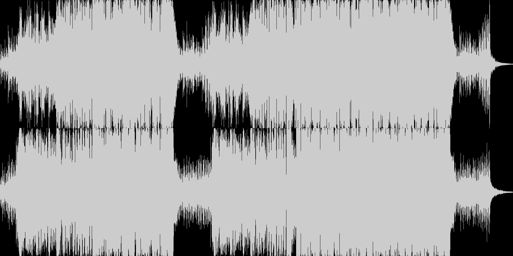 イルミネーションBGMオーケストラの未再生の波形