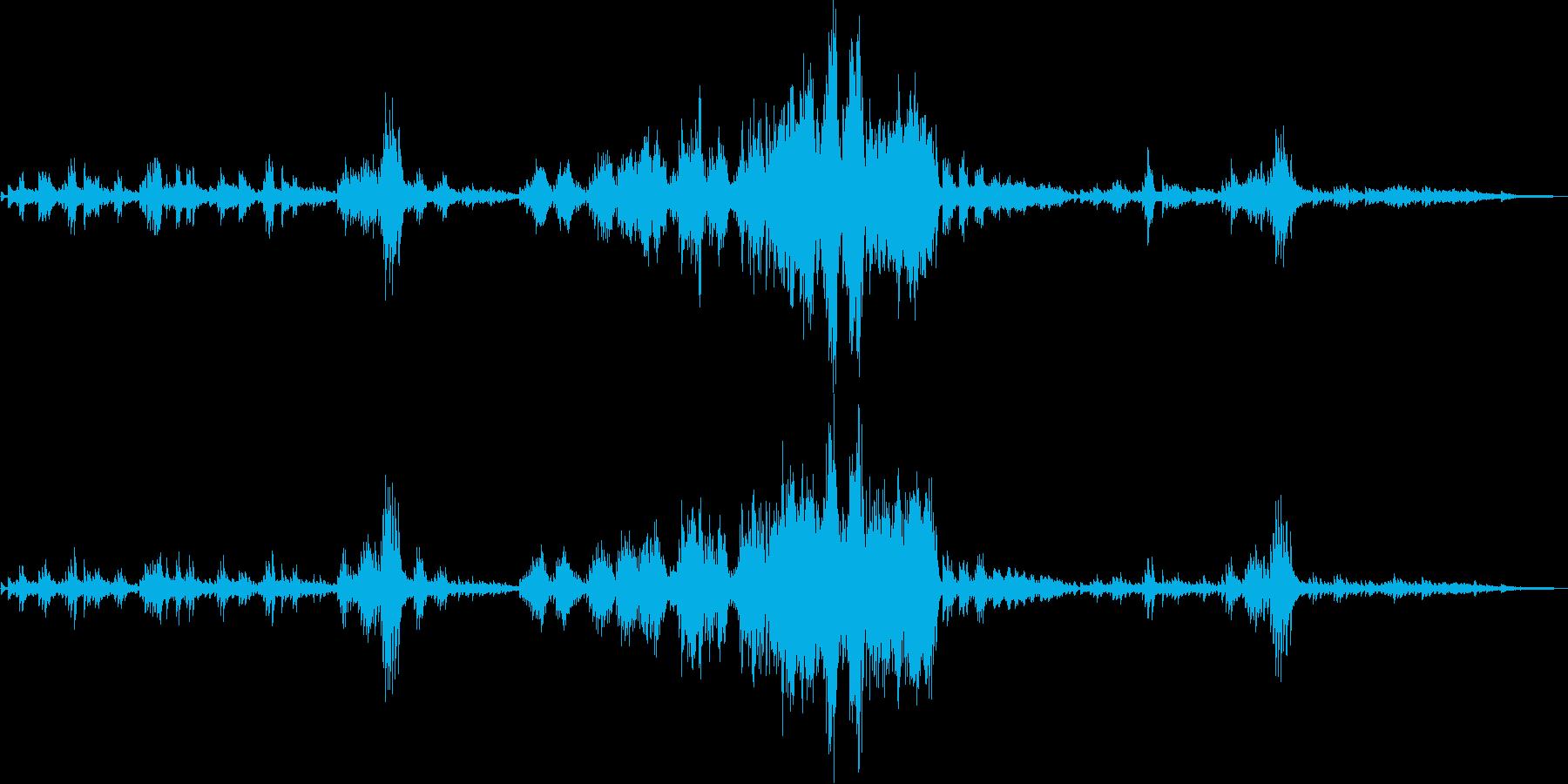 ショパン:別れの曲(ピアノソロ)の再生済みの波形