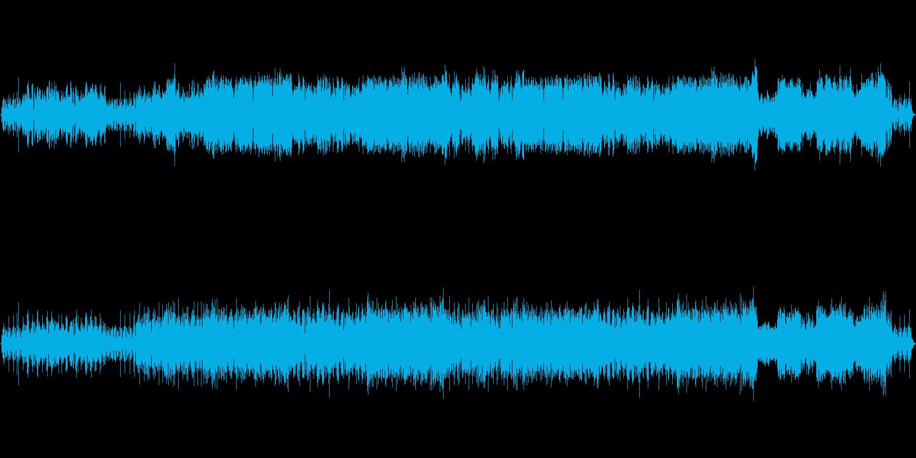 ほのぼのとした平和な島【ループ可】の再生済みの波形