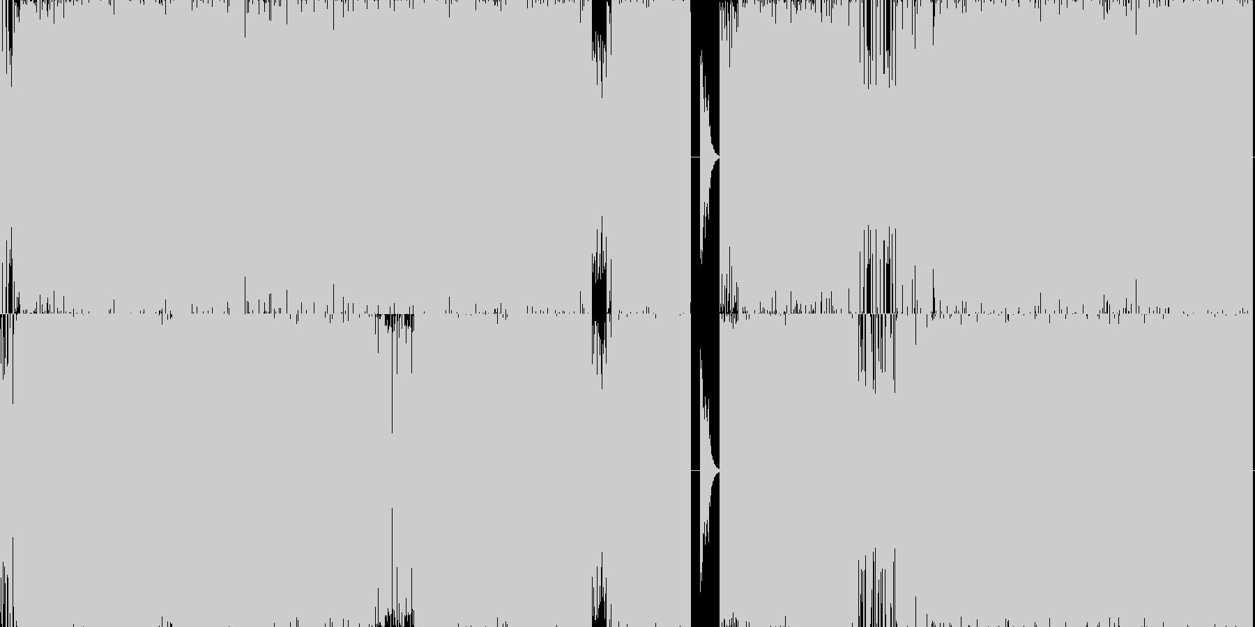 テクノ系のスピード感のある曲で、ゲーム…の未再生の波形