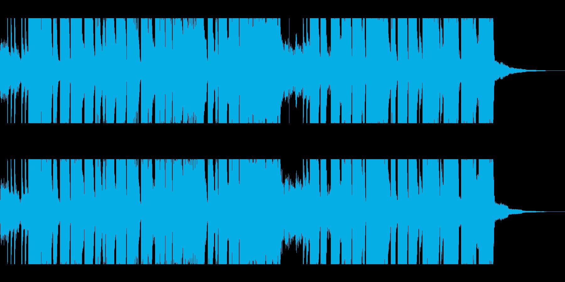 30秒・グランジギター・リフ・バトル2の再生済みの波形