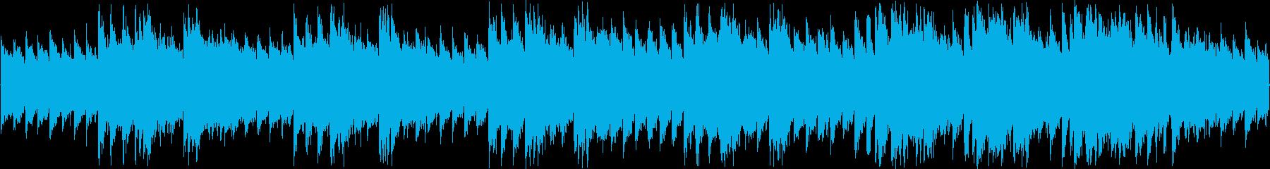 レトロな感じのシューティング用BGMの再生済みの波形