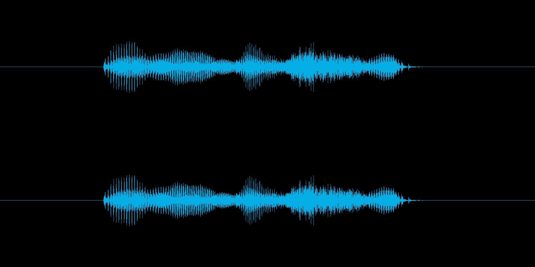 【干支】イヌ年の再生済みの波形