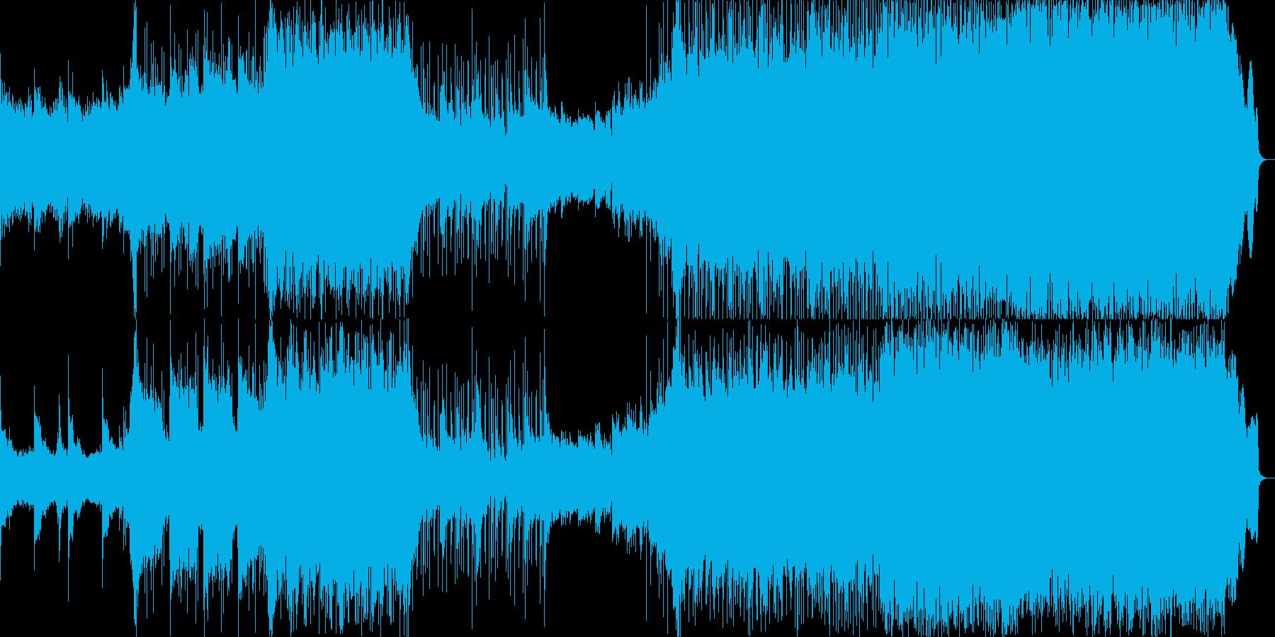 感動EDM-ROCK_BGMの再生済みの波形