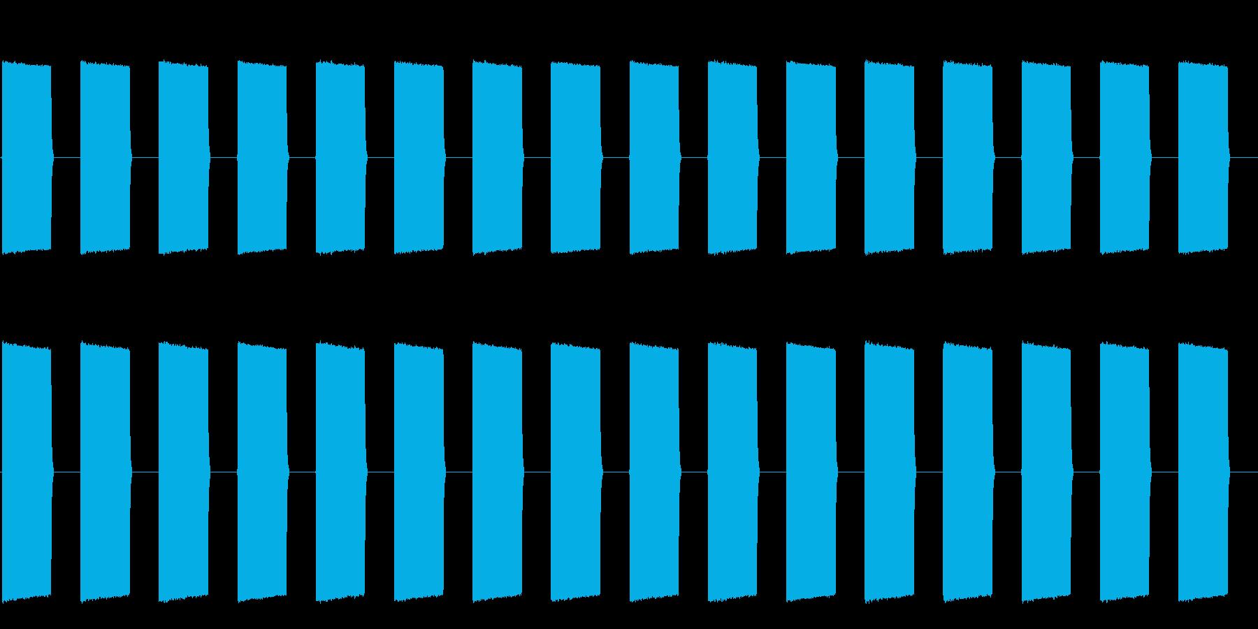 プーップーッ(大型車のバックのアラート)の再生済みの波形