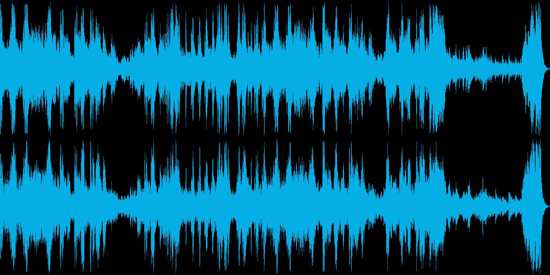 【ショパン】革命のエチュードの再生済みの波形