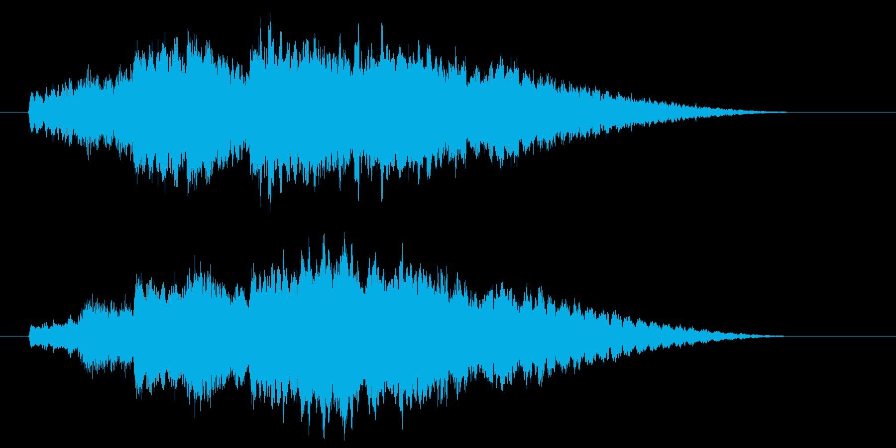 場面転換や状況(心境)変化等のSEの再生済みの波形