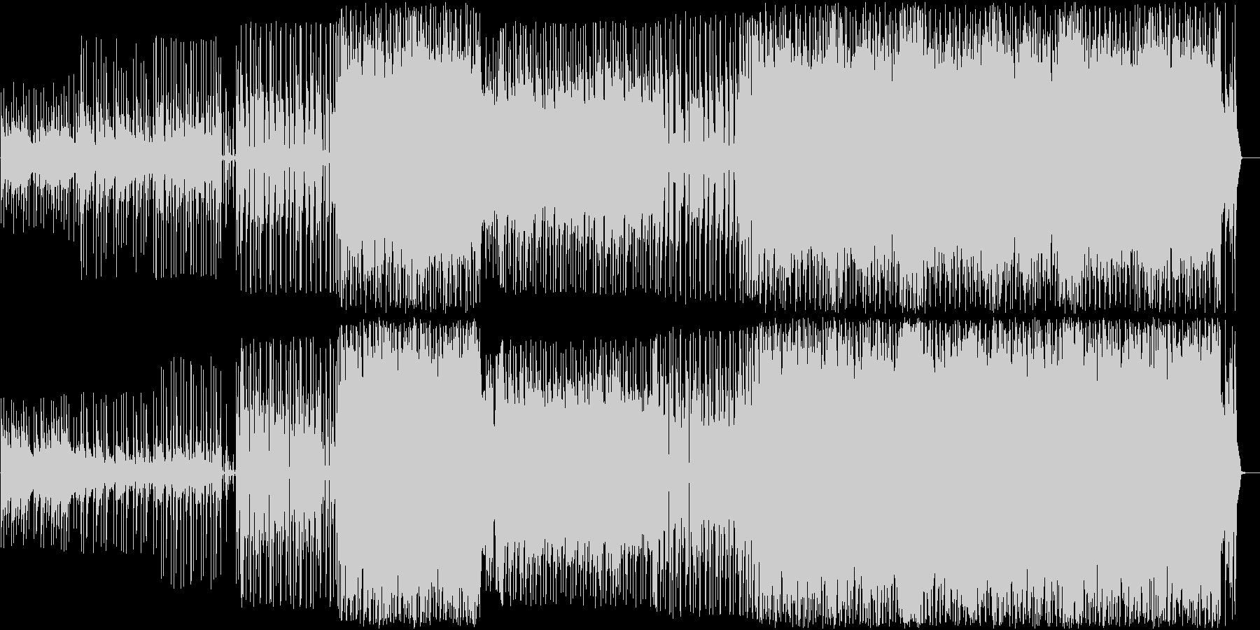 アコギとストリングスのバラードの未再生の波形
