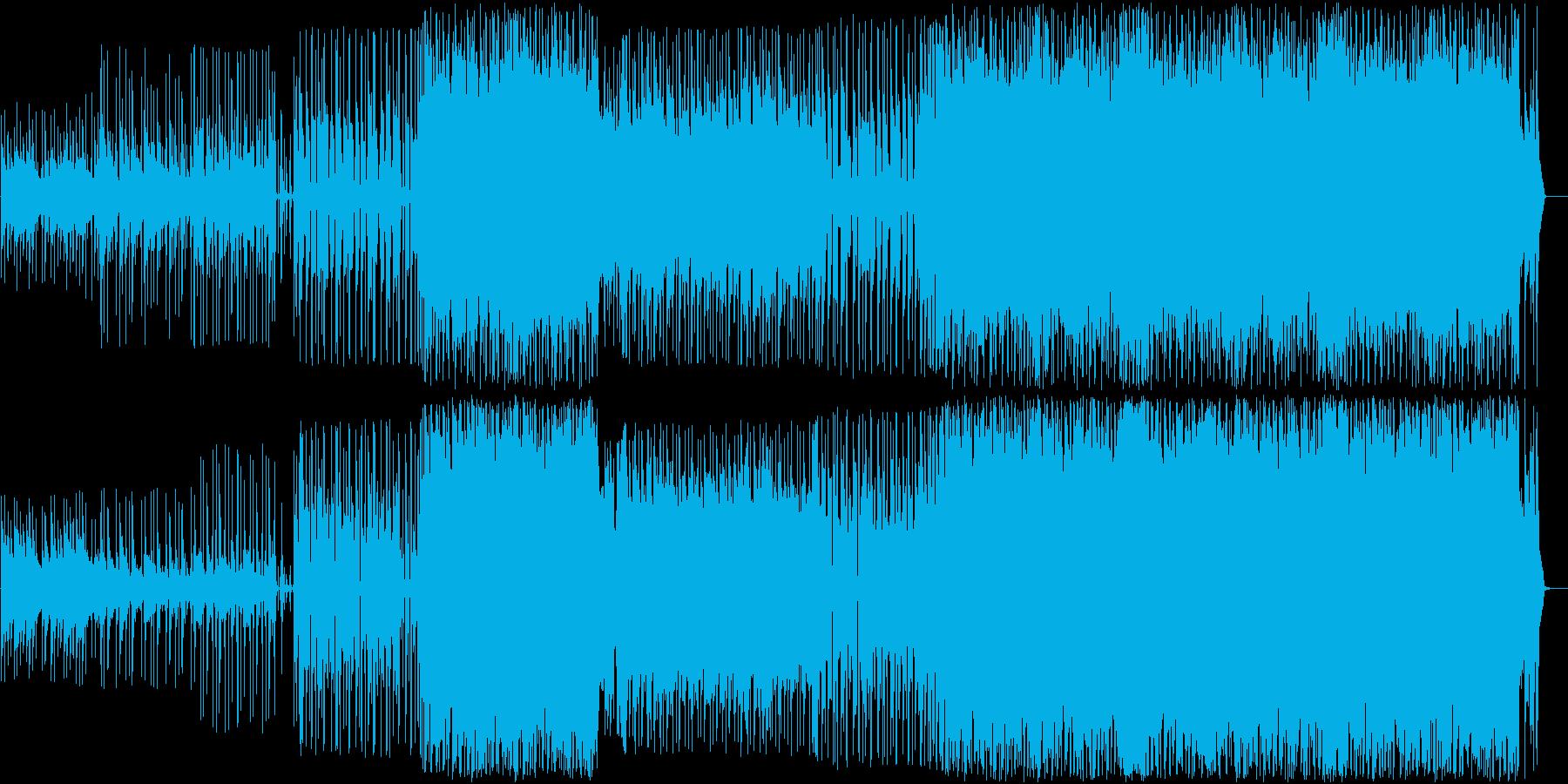 アコギとストリングスのバラードの再生済みの波形