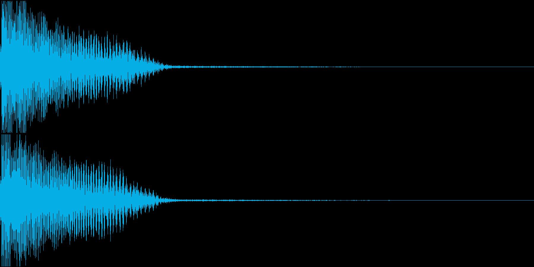 InvaderBuzz 発砲音 25の再生済みの波形