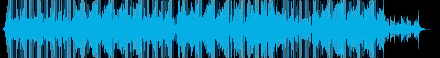 企業VPや映像に バンド風の爽やか系の再生済みの波形