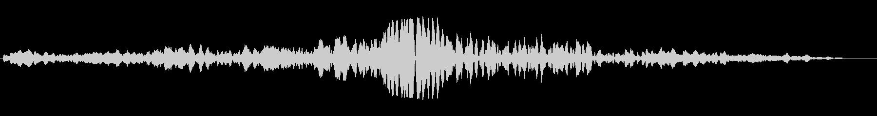 ホ〜フー(宇宙船 宇宙人)の未再生の波形